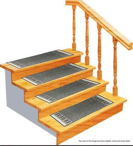 Stair Treads Carpet Non-Slip – Stair Runners for Wooden Steps Non Slip – Rub