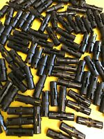 LEGO TECHNIC Pin 25 x Standard BLACK Connector PIN Plain 2790