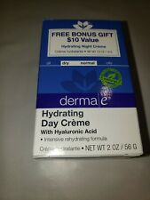 Derma E Hydrating Day Cream Dry-Normal skin - New in Box