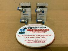 LOT 2 ADNGF2510PA FESTO ADNGF-25-10-P-A COMPACT CYLINDER 537126 V808 SHIPSAMEDAY