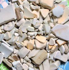 1 Pound Genuine LAKE MICHIGAN Beach Pottery Surf Tumbled Jewelry Craft Quality