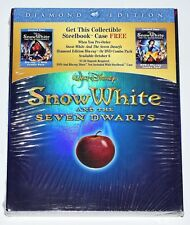 Snow White and the Seven Dwarfs Steelbook and Disney RARE NEW (No Disc)