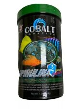 COBALT AQUATICS SPIRULINA FLAKES PREMIUM FISH FOOD PROBIOTICS 1.2 OZ FREE SHIP