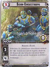 Warhammer 40000 Conquest LCG - 1x #004 Scion-Einsatztruppe - Dschungel von Necta