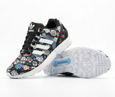 ADIDAS ORIGINALS ZX FLUX WOMEN'S RUNNING SHOES SIZE US 6 FLOWER PRINT BB5052