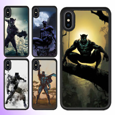 iPhone X 8 7 6s 6 Plus SE 5c 5s Bumper Case Marvel Black Panther Cover For Apple