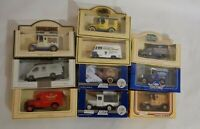 Set of 10 Lledo Club member exclusive limited edition Diecast models Vintage