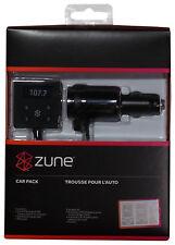 New Microsoft Zune Car Pack V2 FM Transmitter 4 All Zune & HD 16 30 32 80 120 GB