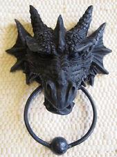 DRAGON DOOR KNOCKER Labyrinth GOTHIC Smaug GARGOYLE Fantasy PAGAN CELTIC BNIB