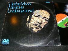 ATLANTIC Herbie Mann LP Memphis Underground SONNY SHARROCK Larry Coryell 1969