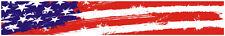 "24"" Vinyl trim USA American flag strip sticker decals hood bumper car bike"