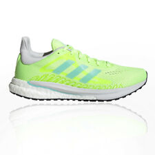 adidas Womens Solar Glide 3 Running Shoes Trainers Sneakers Yellow Sports