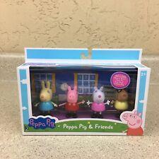 Peppa Pig & Friends Play Figures Set Of 4 Rebecca Suzy   Pedro