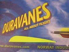 """NEW Norway Duravanes 4"""" Yellow 100 pack Arrow Archery LOTS More Listed"""