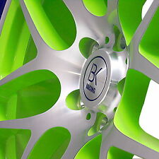 "VW T5 T6 vert poli Roues en Alliage 8.5 X 20"" TRANSPORTER VAN CAMPER BK170"