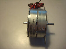 AEG 7.5 deg. 12V Stepper Motor - Twin / Dual Shaft