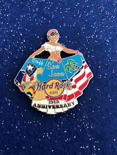 Hard Rock Cafe San Juan 15th Anniversary Staff Pin