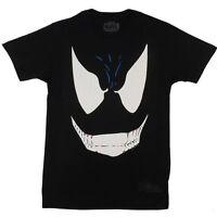 Venom Big Face Spider-Man Marvel Comics Licensed Adult T-Shirt
