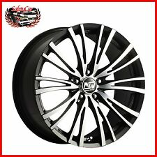 "Cerchio in lega OZ MSW 20/5 Matt Black Full Polished 17"" Audi S4"