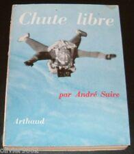 RARE AVIATION PARACHUTISME / CHUTE LIBRE / ANDRE SUIRE