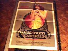 PLATINUM PARADISE MOVIE POSTER  KANDI BARBOUR