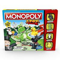Hasbro Monopoly Junior Classic Kids Property Trading Board Game