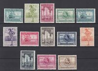 SPAIN 1929, Sc #348-357, CV $123, Barcelona Exhibition, MH