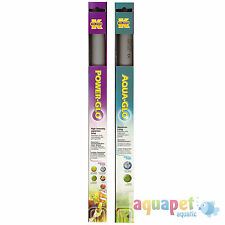 Power-GLO T8, 30W Fluorescent Aquarium Bulb with Free Aqua-GLO T8, 30W