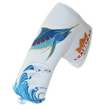 Fish Golf Putter Cover HeadCover For Taylormade TP Collection JUNO OS CB DAYTONA