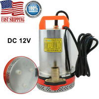 12V Farm & Ranch Solar Powered Submersible DC Water Well Pump 120W w/ 2.5M Cable