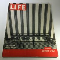 VTG Life Magazine November 3 1952 - The U.N.'s New Assembly Building / Newsstand