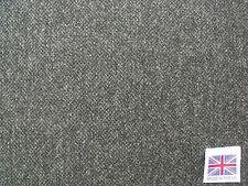 100% Pure New Wool Lambswool Herringbone Tweed Fabric 2.0 m