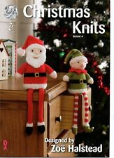 King Cole Christmas Knits by Zoe Halstead Knitting Book No 4