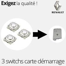 3 X Switch bouton ORIGINAL carte démarrage Laguna 2 Espace 4 Vel Satis  - SW16