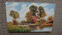 The River Farm, Ringwood Tuck Oilette Hampshire Series Postcard