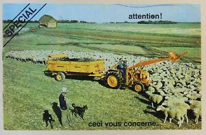 prospectus brochure choisir un tracteur Renault N72 tractor traktor prospekt