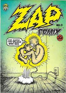 Zap Comix #0, 2nd printing Apex Novelties 1968, R. Crumb,  NM