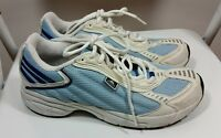 ADIDAS Mens Trainers Size 6 UK 39.5 EUR 7.5 US hoes White Blue Men Casual