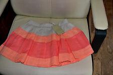 jupe  cyrillus neuve  doublee magnifique plissee  5 ans couleurs ravissantes