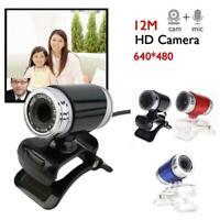 360° 5.0MP HD Webcam Web Cam Camera for Computer PC Laptop Desktop Webcam New