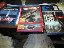 5 Blu Ray's Avatar, 2 Inglurious Basterds,Earth Stood Still, Independence Day, 3