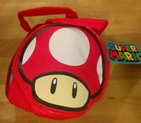 Super Mario Super Mushroom Insulated Lunch Bag Brand New Culturefly