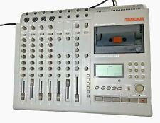 Tascam | PortaStudio 464 | Multi-Track Cassette Tape Recorder | 4 Track Mixer