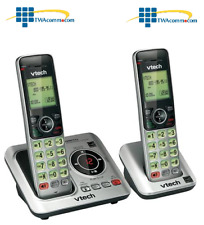 Vtech CS6629-2 Tri-Lingual Eco-Friendly Phone w/ 2 Cordless Handset FREE SHIPING