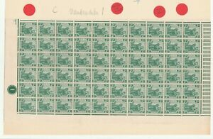 MALAYA 1919  SG 31 2 CT. FEDERATED MALAY STATES .MNH TIGER.BLOCK PANE PLATE 1