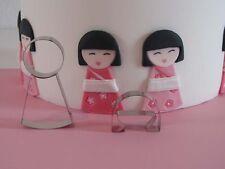 Geisha girl  Cutter Set - Bien Collection - Sugarcraft Cake Decorating
