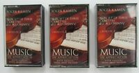 Roger Kamien Music An Appreciation Cassette Tapes Classical Set of 3 Tested