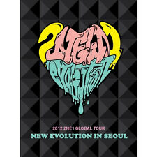 2NE1-[NEW EVOLUTION IN SEOUL] 2012 GLOBAL TOUR LIVE DVD(2DISC+Booklet K-POP)