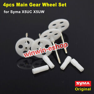 4PCS Original Gear Wheel Set for Syma X5UC X5UW RC Drone Quadcopter Spare Parts