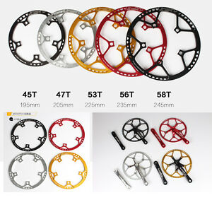 MTB Folding Road Bike Bicycle 130mm BCD Chainring tooth plate 45 /47 /53 /56/58T
